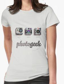 Photogeek Womens Fitted T-Shirt