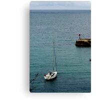 Port Isaac Harbour Canvas Print