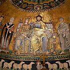 Mosaic of Santa Maria de Trastévere by HELUA