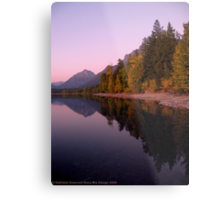 Lake MacDonald - Glacier National Park Metal Print