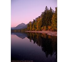 Lake MacDonald - Glacier National Park Photographic Print
