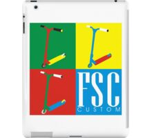 FSC Custom Scooters  iPad Case/Skin