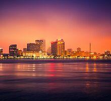 New Orleans Skyline by Giorgio Fochesato