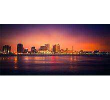 New Orleans Skyline Photographic Print