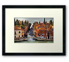 Ponte della Croce Framed Print