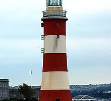 Smeatons Tower, Plymouth Hoe. by Chris Edwards