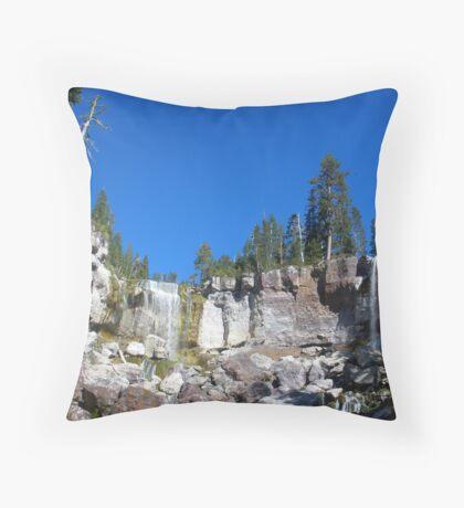 Paulina Creek Falls Throw Pillow