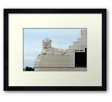 Guardian of the Cenotaph Framed Print
