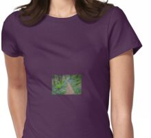 Bluebell Wood, Solva, Pembrokeshire Womens Fitted T-Shirt