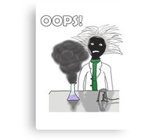 When science goes wrong Metal Print