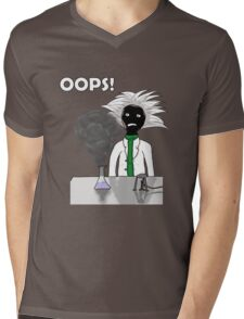 When science goes wrong Mens V-Neck T-Shirt
