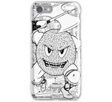Gonad The Barbarian Comic Collage iPhone Case/Skin