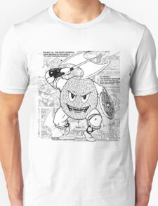 Gonad The Barbarian Comic Collage T-Shirt