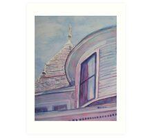 Turret and Cupola Art Print