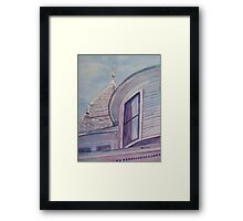 Turret and Cupola Framed Print