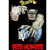 Rubbernorc Beer Monster Photographic Print