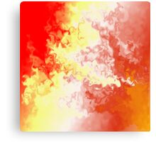 Abstract Fire Storm 5 Canvas Print