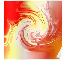 Abstract Swirl 7 Poster