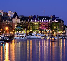 Empress Hotel in Victoria, British Columbia, Canada by Anne McKinnell