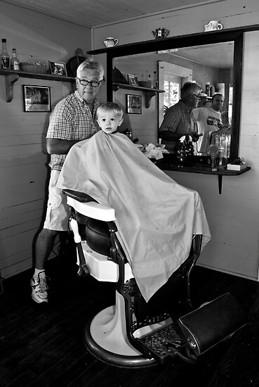 Barber and the Boy by BigD