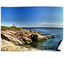 Beavertail Lighthouse, Jamestown, Rhode Island Poster