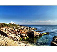 Beavertail Lighthouse, Jamestown, Rhode Island Photographic Print