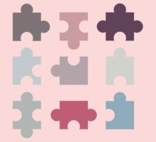Puzzle Piece Kids Tee