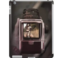 retro film camera iPad Case/Skin