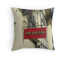 The Rip Bar Throw Pillow