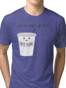 A Greek Yoghurt Tri-blend T-Shirt