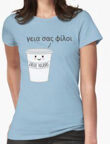 A Greek Yoghurt Womens Fitted T-Shirt