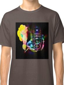 psychedelic vintage film camera Classic T-Shirt