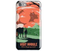 Visit Hyrule iPhone Case/Skin
