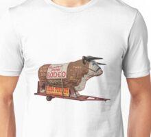 Texas Long Horn Steer Roadside Attraction Unisex T-Shirt
