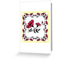 Poppy design (Drawing) Greeting Card