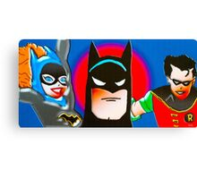 calling all superheroes Canvas Print