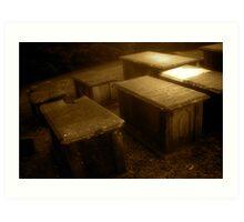 Crypt Row Art Print