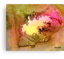 Fossil Forms Canvas Print