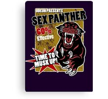 Sex Panther by Odeon Canvas Print