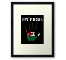 Jordan My Pride Framed Print
