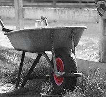 Wheel barrow by Fulguration