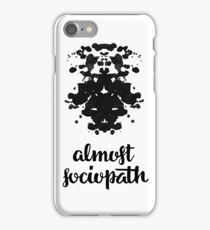 Almost Sociopath iPhone Case/Skin
