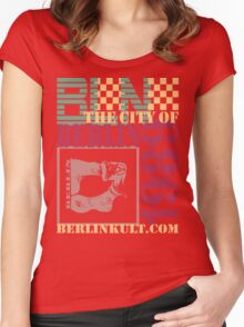 BERLIN Women's Fitted Scoop T-Shirt