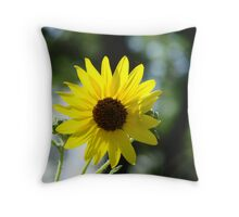 Looking to the Sun Throw Pillow