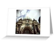 Berliner Dom Greeting Card