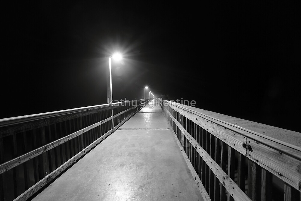 lonely pier walk by kathy s gillentine