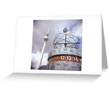 Berlin Alexanderplatz  Greeting Card