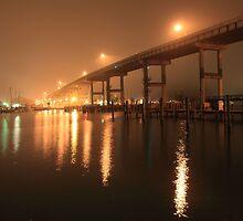 Matanzas Pass Bridge by kathy s gillentine
