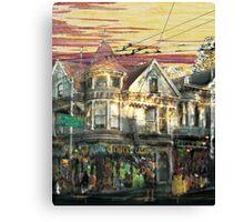 """Haight Ashbury """"barchaProcess"""" Canvas Print"""