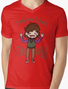 Spencer Reid-Books Mens V-Neck T-Shirt